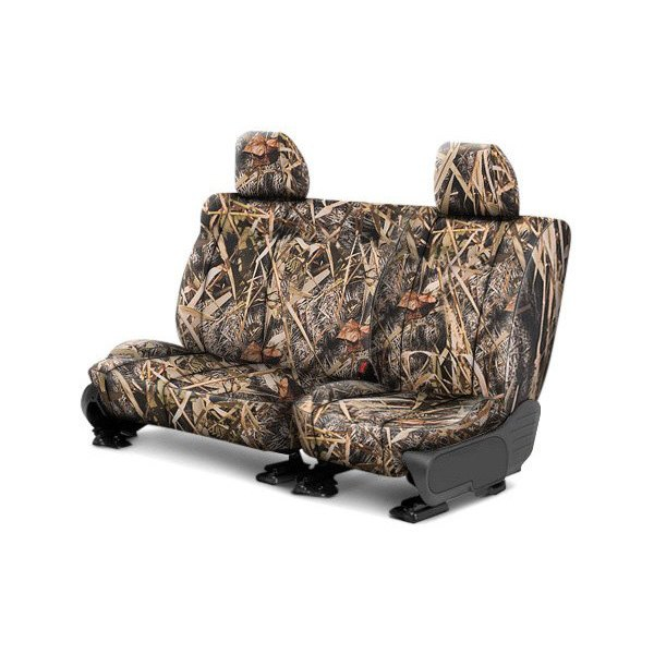 CalTrend® - 2nd Row Tough Camo Marsh Custom Seat Covers