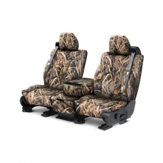 CalTrend® - Front Row Tough Camo Marsh Custom Seat Covers