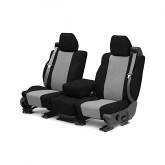 CalTrend� - Tweed Black with Gray Custom Seat Covers