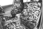 Image may not reflect your exact vehicle! CalTrend® - Camouflage Custom Seat Covers