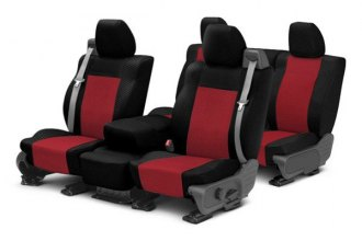 Image may not reflect your exact vehicle! CalTrend® - Carbon Fiber Custom Seat Covers