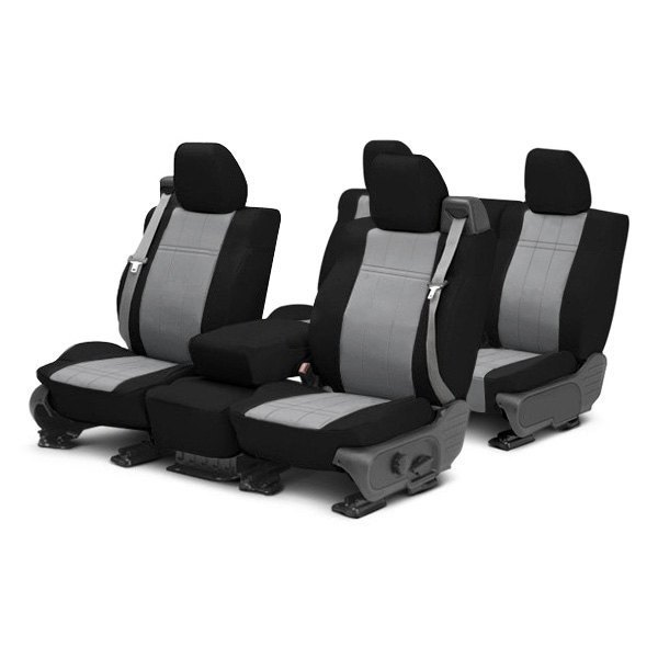 Image may not reflect your exact vehicle! CalTrend® - DuraPlus Custom Seat Covers