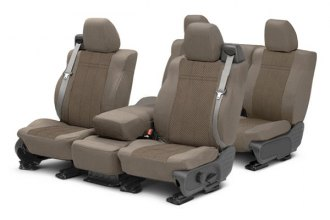 Image may not reflect your exact vehicle! CalTrend® - EuroSport Custom Seat Covers
