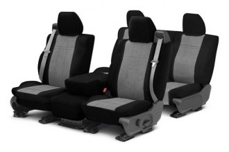 Image may not reflect your exact vehicle! CalTrend® - MicroSuede Custom Seat Covers