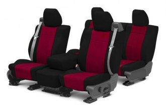 Image may not reflect your exact vehicle! CalTrend® - NeoSupreme Custom Seat Covers
