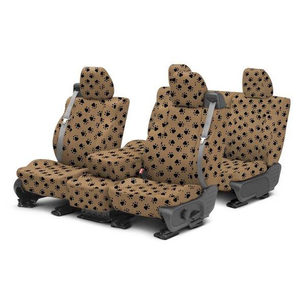 caltrend kia soul 2015 pet print custom seat covers. Black Bedroom Furniture Sets. Home Design Ideas