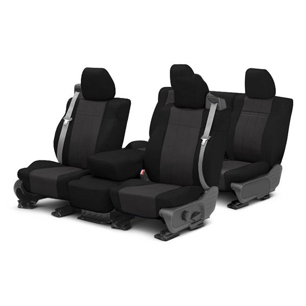 Image may not reflect your exact vehicle! CalTrend® - SportsTex Custom Seat Covers