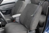 Image may not reflect your exact vehicle! CalTrend® - SuperSuede Custom Seat Covers