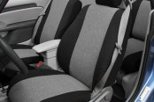 Image may not reflect your exact vehicle! CalTrend® - Tweed Custom Seat Covers