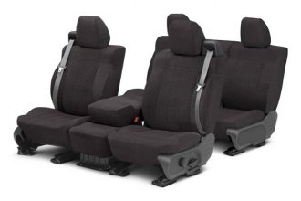Image may not reflect your exact vehicle! CalTrend® - O.E. Velour Custom Seat Covers