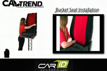 CalTrend® - Custom Bucket Seat Covers Installation Video 602x420