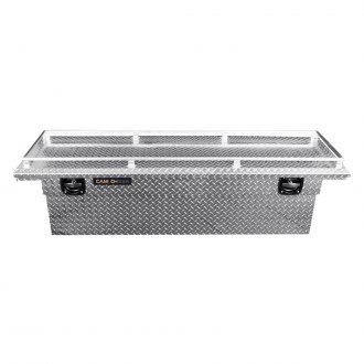 Cam-Locker® - King Size Low Profile Deep Single Lid Crossover Tool Box with Rail