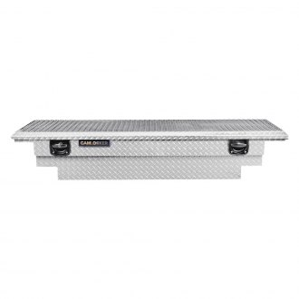 Cam-Locker® - King Size Low Profile Stair Notches Single Lid Crossover Tool Box