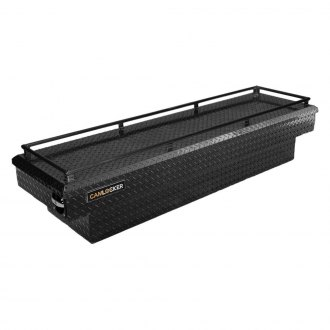 Cam-Locker® - King Size Standard Single Lid Crossover Tool Box with Rail