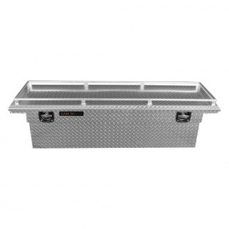 Cam-Locker® - King Size Deep Low Profile Wide Single Lid Crossover Tool Box with Rail