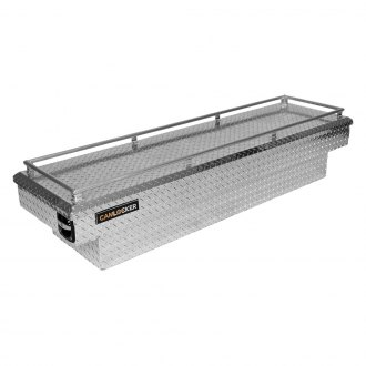 Cam-Locker® - King Size Extra Deep Wide Single Lid Crossover Tool Box with Rail