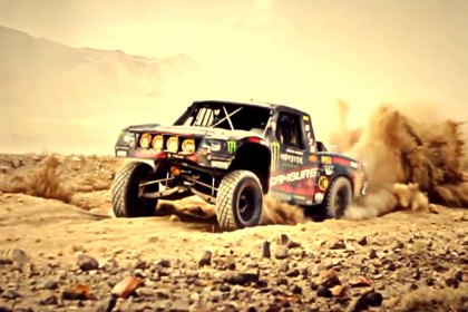 Camburg® Vegas to Reno-2013 Spec Trophy Truck General Tire Monster Energy (Full HD)