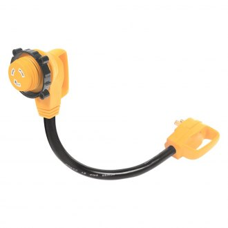 Camco® - 90° Locking Electrical Adapter