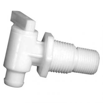 "Camco® - 3/8"" and 1/2"" Dual Drain Valve without Flange"