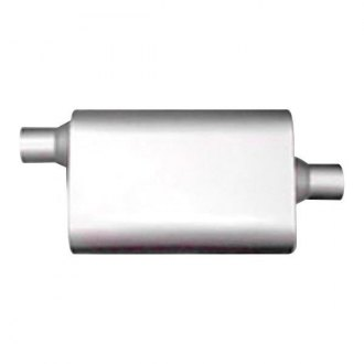 Thunderbolt® - Original Two Chamber 304 SS Oval Hi-Perfomance Exhaust Muffler