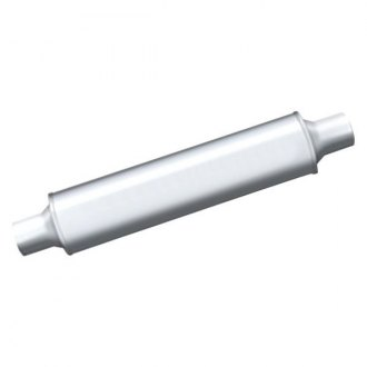 Thunderbolt® - TBM™ Stainless Steel Round Hi-Perfomance Exhaust Muffler