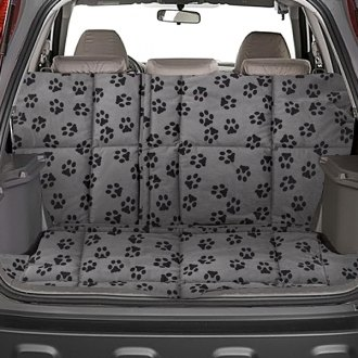 Image may not reflect your exact vehicle! Canine Covers� - Crypton� Paw Print Fathom Cargo Liner
