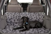 Image may not reflect your exact vehicle! Canine Covers® - Crypton™ Paw Print Fathom Cargo Liner