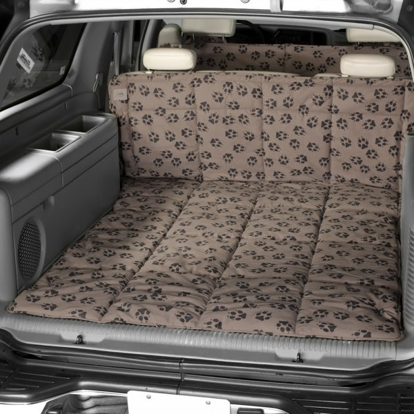 Image may not reflect your exact vehicle! Canine Covers® - Crypton™ Paw Print Harlow Cargo Liner