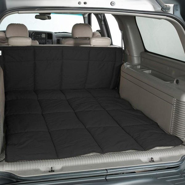 Image may not reflect your exact vehicle! Canine Covers® - Polycotton Black Cargo Liner