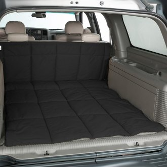 Image may not reflect your exact vehicle! Canine Covers� - Polycotton Charcoal Black Cargo Liner