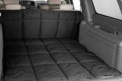 Image may not reflect your exact vehicle! Canine Covers® - Polycotton Charcoal Black Cargo Liner