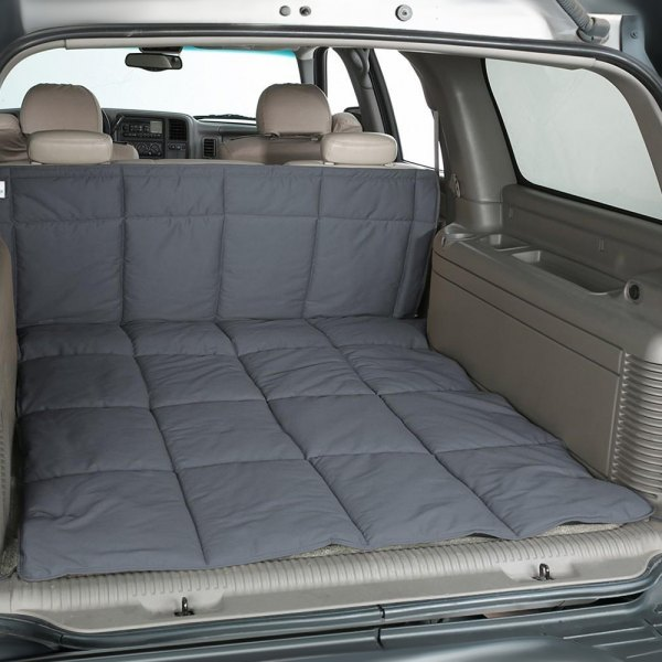 Image may not reflect your exact vehicle! Canine Covers® - Polycotton Gray Cargo Liner