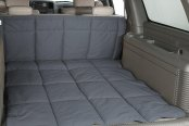 Image may not reflect your exact vehicle! Canine Covers� - Polycotton Gray Cargo Liner