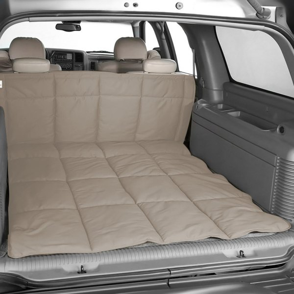 Image may not reflect your exact vehicle! Canine Covers® - Polycotton Taupe Cargo Liner