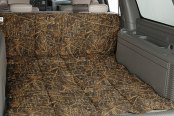 Image may not reflect your exact vehicle! Canine Covers® - True Timber™ Camo Print Conceal Brown Cargo Liner