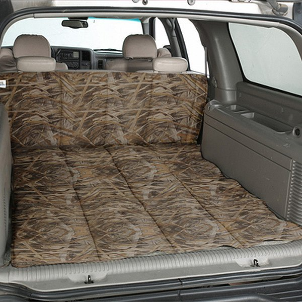 Image may not reflect your exact vehicle! Canine Covers® - True Timber™ Camo Print Flooded Timber Cargo Liner