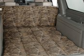 Image may not reflect your exact vehicle! Canine Covers� - True Timber� Camo Print Flooded Timber Cargo Liner