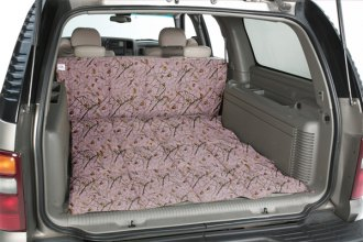 Image may not reflect your exact vehicle! Canine Covers� - True Timber� Camo Print Pink Cargo Liner