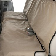 Canine Covers® - Crypton™ Paw Print Champagne Cargo Liner