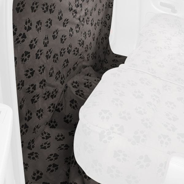 Image may not reflect your exact vehicle! Canine Covers® - Crypton™ Paw Print CoverAll Harlow Seat Protector
