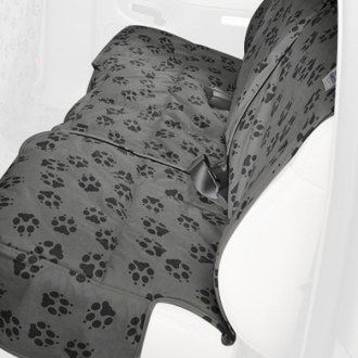 Canine Covers® - Crypton™ Paw Print Rear Row Fathom Seat Protector