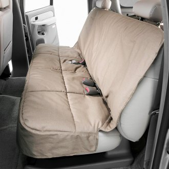 Canine Covers® - Polycotton Semi-Custom Rear Wet Sand Seat Protector
