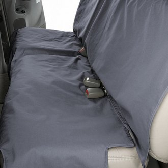 Image may not reflect your exact vehicle! Canine Covers� - Polycotton Econo Plus Rear Gray Seat Protector
