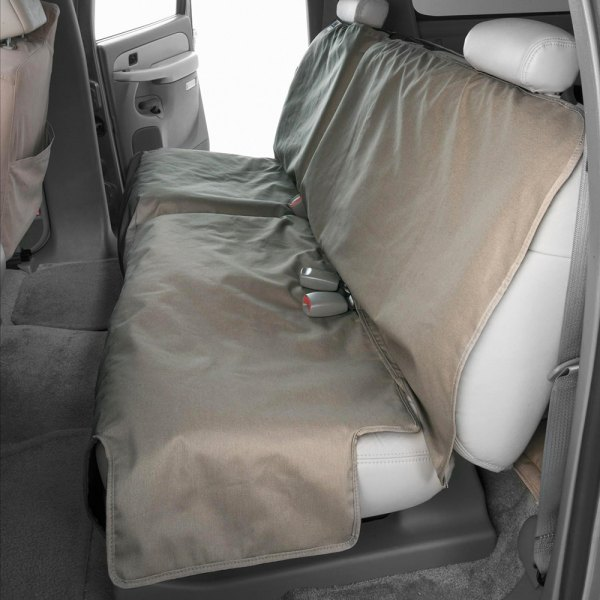 Canine Covers® - Polycotton Econo Plus Rear Misty Gray Seat Protector