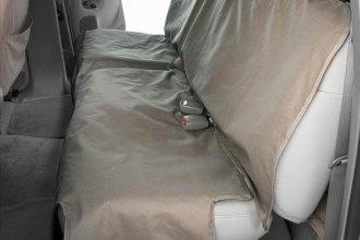 Canine Covers® DE2011CT - Polycotton Econo Plus Rear Misty Gray Seat Protector