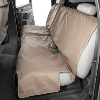 Canine Covers® - Polycotton Econo Plus Rear Row Taupe Seat Protector