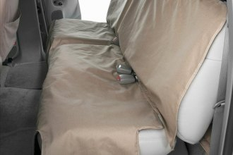 Image may not reflect your exact vehicle! Canine Covers® - Polycotton Econo Plus Rear Wet Sand Seat Protector