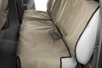 Canine Covers® - Coated Polyester Econo Rear Taupe Seat Protector
