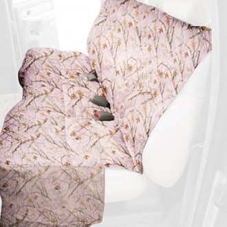 Canine Covers® - True Timber™ Camo Print Pink Camo Seat Protector