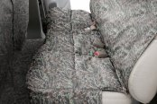 Canine Covers® - True Timber™ Camo Print Custom Rear Seat Protector